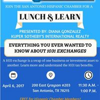 Lunch &amp Learn presented by Diana Gonzalez