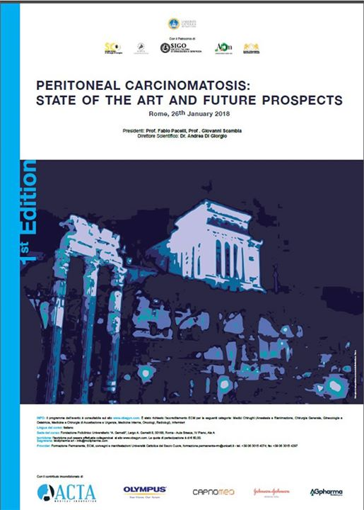 Peritoneal Carcinomatosis State of art and future prospects