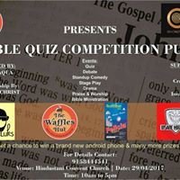 Bible Quiz Competition