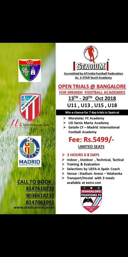 8 Days  Spanish Soccer Clinic