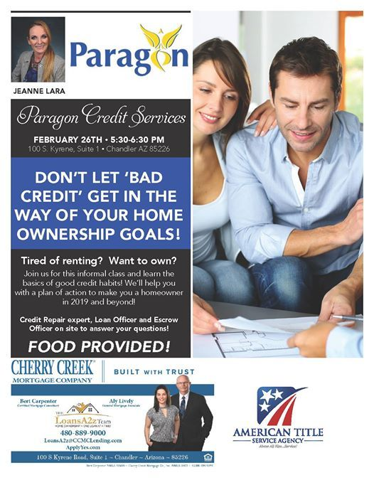 Dont Let Bad Credit Get In The Way Of Your Home Ownership Goals