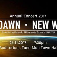 New Dawn  New World (Annual Concert 2017)