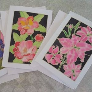 Silk Painting - Create your own Christmas Card