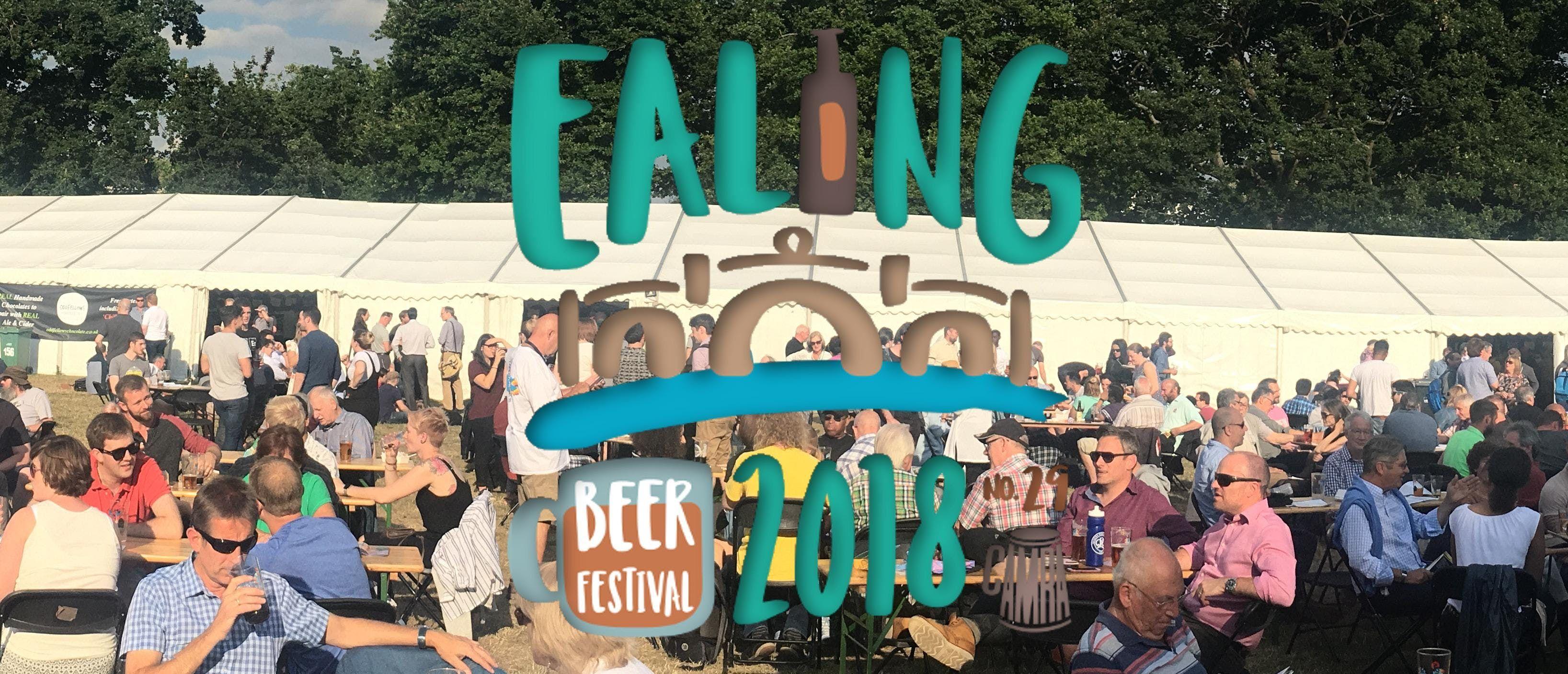 2018 Ealing Beer Festival