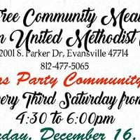 Fairlawn UMC Christmas Party Community Meal