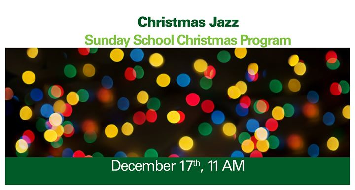 christmas jazz zoars sunday school christmas program at zoar lutheran church perrysburg