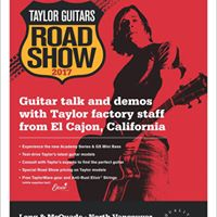 Taylor Guitar Road Show 2017 - North Vancouver
