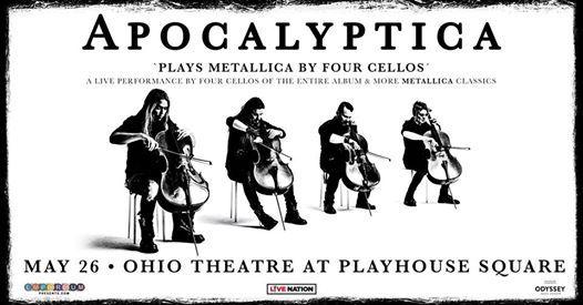 Apocalyptica Plays Metallica By Four Cellos at Ohio Theatre