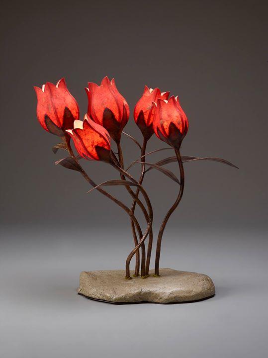 Demo Hanji Flower Lamp Techniques