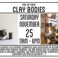 Pop Up Shop Clay Bodies