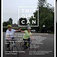 BikewellThis Girl Can Get Pedalling Cycle Course