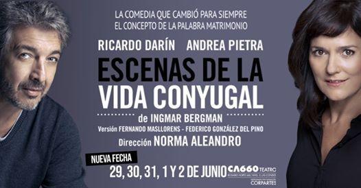 Escenas de la Vida Conyugal - Ricardo Darn y Andrea Pietra