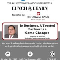 Lunch &amp Learn presented by Broadway Bank
