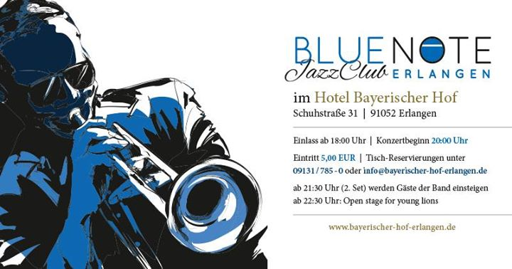 Jazzclub Erlangen The Blue Note Trio feat. Helmut Kagerer