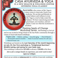 First Ayurveda workshop