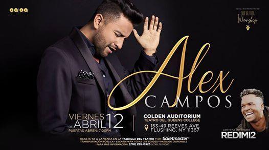 Alex Campos - Redimi2 - Nueva Vida Worship en Queens NY