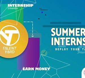 Summer Internship &quotTalent Yard&quot