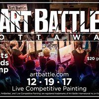 Art Battle Ottawa - Capital Collaboration Holiday Showdown