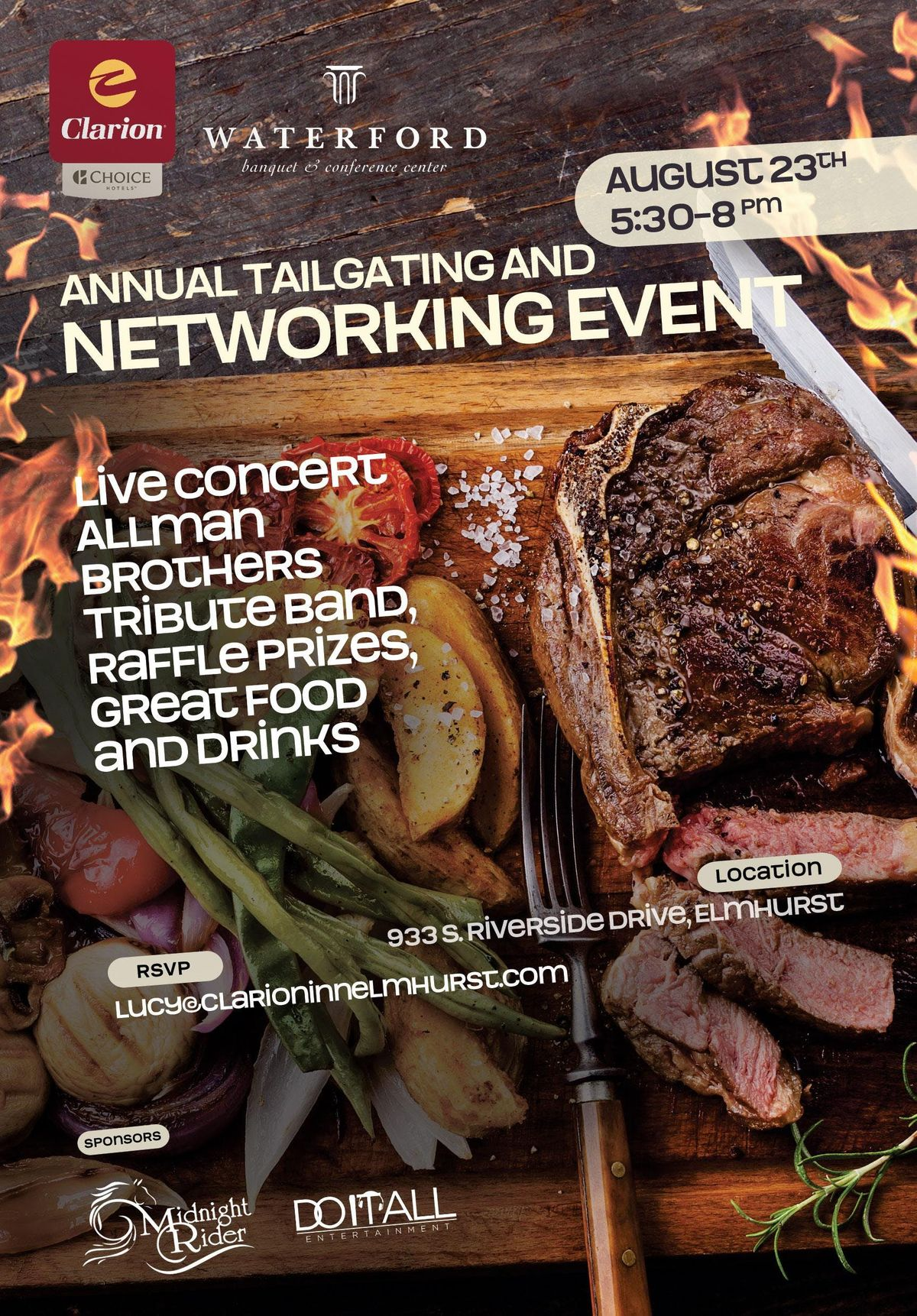 FREE (Oak Brook IL) Annual Tailgating And Networking Event