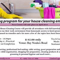 House Cleaning Training Program