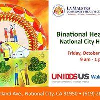 Binational Health Week - National City Health Fair