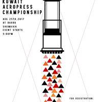 2017 Kuwait AeroPress Championship