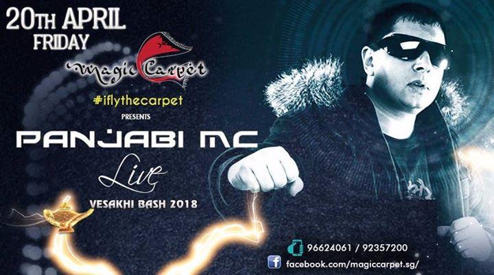 Panjabi MC Live in Singapore