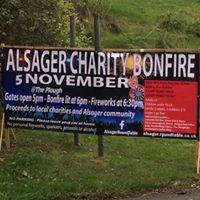 Alsager Charity Bonfire