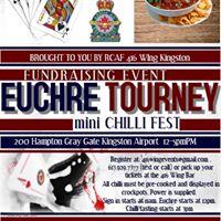 Euchre Tournament &amp mini Chilli Fest