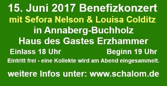 Benefizkonzert Mit Sefora Nelson Louisa Colditz At Haus Des