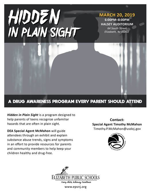 Hidden in Plain Sight - A Drug Awareness Program at Admiral