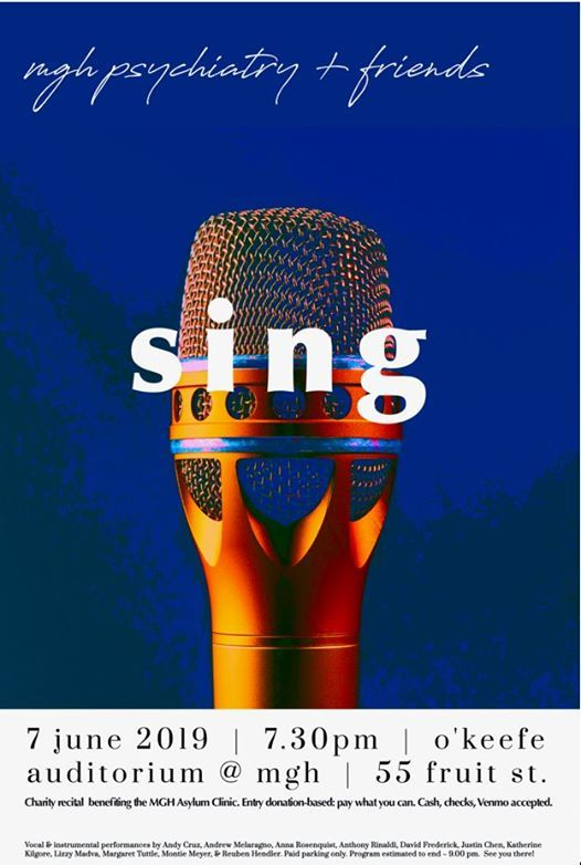 Sing - Mass General Recital | Boston