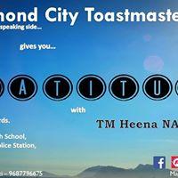 11th Meet of Diamond City Toastmasters Club