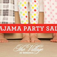 Pajama Party Sale