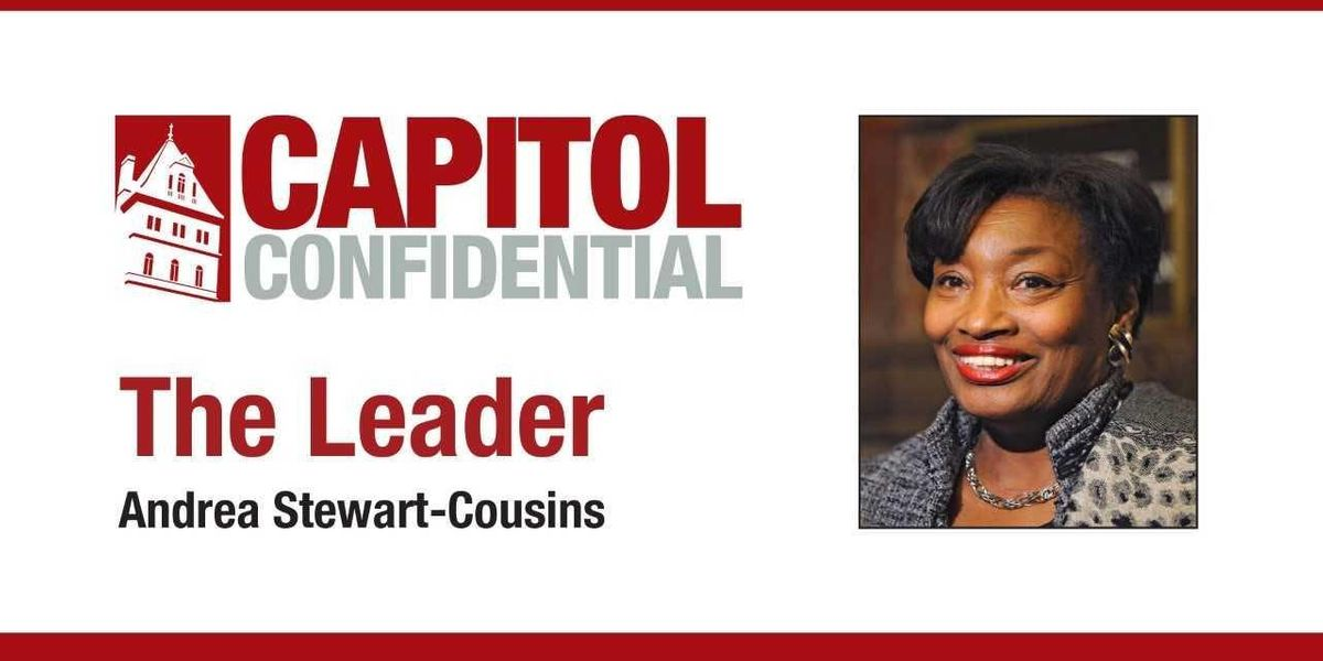 The Leader Andrea Stewart-Cousins