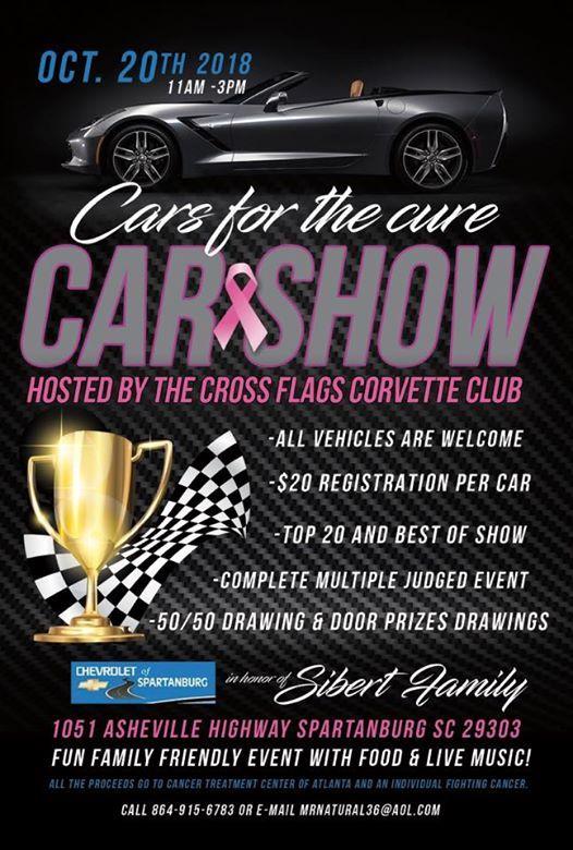 St Annual Cross Flags Car Show At Chevrolet Of Spartanburg Carolina - Car show flags