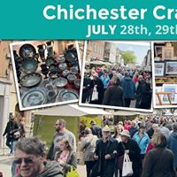 Chichester Craft Market - JUL 28th 29th &amp 30th 2017