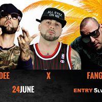 Dee X Hoodini Fang  Palm Beach 24 June