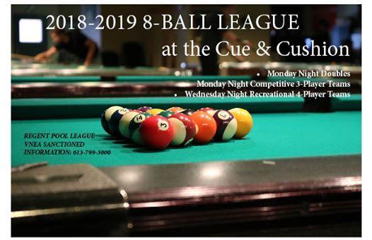 North Bay 8-Ball Rumble at Partners Billiards & Bowling361