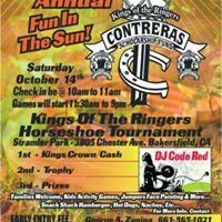 The 6th Annual Contreras Scholarship Fund Horseshoe Tournament