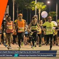 Mens Health Womens Health Night Run by AIA Vitality 2017