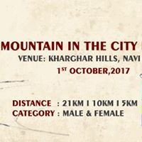 Mountain In The City Marathon 2017 - 3rd Edition