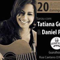 Sarau com Daniel Petrella e Tatiana Gurgel  Amigos