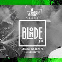 Tuborg Musik &amp Slagteriet presents BLONDE (UK) dj set