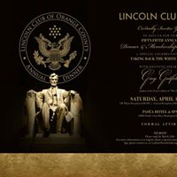 Lincoln Club of Orange County - Fifty-Fifth Annual Dinner 2017