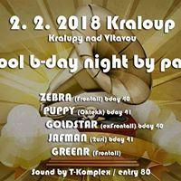 Oldschool B-DAY NIGHT by pardal djs