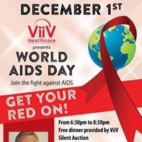 Get Your Red On - World AIDS Day Dinner