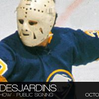 Gerry Desjardins - The Hockey Show - Public Signing