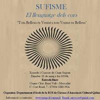 Sufisme a Girona El Llenguatge dels Cors- entrada lliure