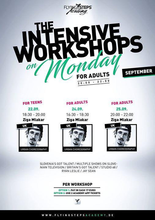 IWM & IWF - Urban Choreography Workshops mit Ziga Mlakar